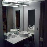 cute loft like bathroom