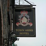 Town Arms Hotel South Molton Inn Sign