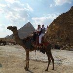 Vor den Pyramiden