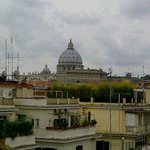 Another view of The Vatican from our balcony