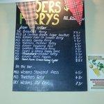 Cider list