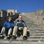 Climbing the Great Wall - awesome