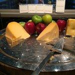 das gesamte Käsebuffet