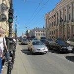 Nevsky Prospect, Sankt-Peterburg, Russia