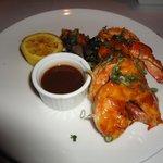 Outro menu servido no restaurante, camarões..tb muito bom!
