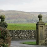 View of Dales from Hotel Entrance