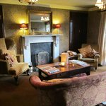One of the Hotel Lounges - with open fire!