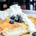 Stuffed French Toast with Fresh Blueberries