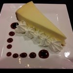 """New York Cheesecake """"Smooth as Silk"""" one of the best and made fresh daily :)"""