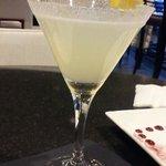 Lemon Drop Margarita ask for James the bartender is a friendly and tentative young man at HBar