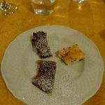 Dessert sampling plate
