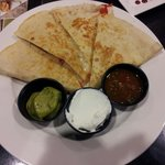 Chicken Quesadilla another great light snack before going out on the town ....
