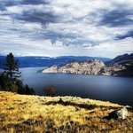 Okanagan Lake. One of the many beautiful views at the Ranch from Wildhorse Mountain.
