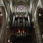 The majestic double layered church organ