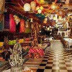 Interior of India House Restaurant