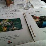 Menù e carta dei vini