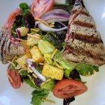 Yellow tuna salad, really good!