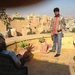 Learning about Jaisalmer from Manish