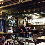 Nice bar area. Plenty to look at.