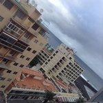 från balkongen på 8 vån