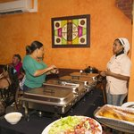 Buffet @ Restaurant Topacio call for your group events