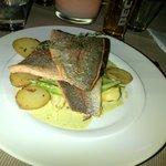 Le saumon est excellent
