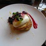 Breakfast Pancakes with berries