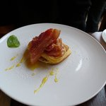 Breakfast Pancakes with bacon