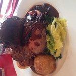 Sunday roast -beef