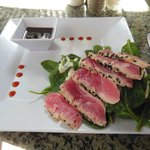 Fabulous ahi tuna appetizer