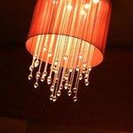 Lobby lounge lighting, so beautiful