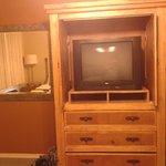 apartamento com tv grande e internet