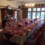Chistmas table ready