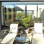 Red Egret Room patio