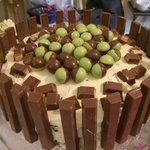 Chocolate Mint Overload cake