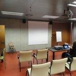 Sala onde apresentei o trabalho científico