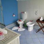 banheiro muito arrumado