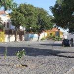 Town center of Sao Filipe