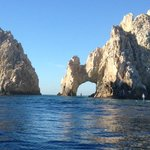 The famous Arch at Cabo