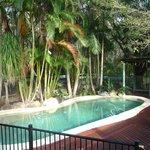 Picnic Creek's private pool