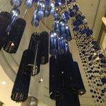 Lustres do lobby