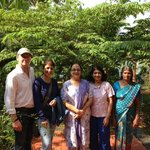 Our group with Indu and Chechi