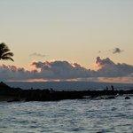 Napili Beach Sunset