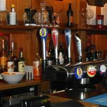 Great choice of beers, wines, spirits and soft drinks