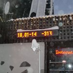 its cold!