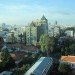 View on Ho Chi Minh City