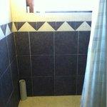 Big clean shower