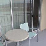 Balcony of Room 301