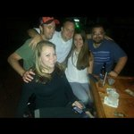 Night with friends at Paddy B's