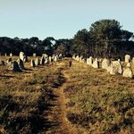 kerlescan megalithic alignment near Carnac